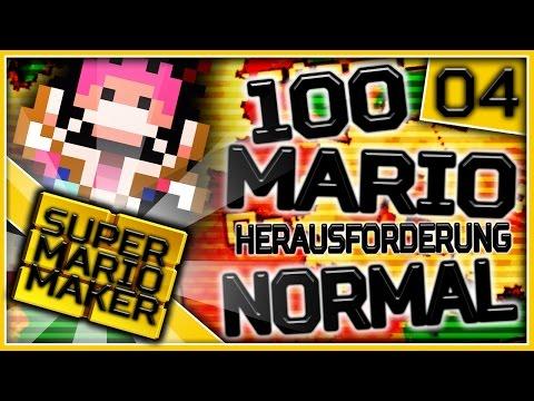 Super Mario Maker Online - 100-Mario-Herausforderung: Normal! | Part 4