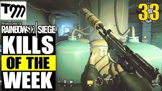 Rainbow Six Siege - Top 10 Kills of the Week #33 (Siege Highlights)
