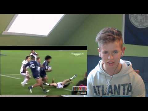 Rugby BIG HITS REACTION