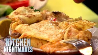 Lying Chef Can\'t Take Criticism And WALKS OUT | Kitchen Nightmares