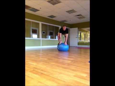 7 Stability Ball Balance Exercises