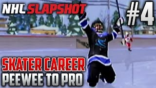 NHL Slapshot (Wii) | Peewee to Pro (Skater Career) | EP4 | FINAL PEEWEE GAME