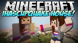 Repeat youtube video Minecraft | iHASCUPQUAKE HOUSE! | Build Showcase