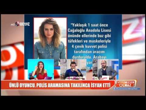 Demet Akalın, polise isyan eden oyuncuya çok kızdı
