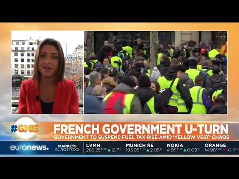 French Government Prepares To Halt Proposed Fuel Tax Hikes In Attempt To Quell Yellow Vest Chaos