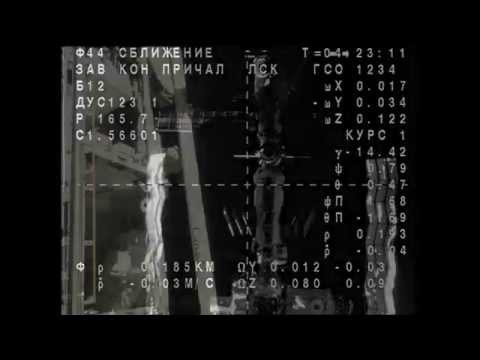 One-Year Crew Docks to ISS