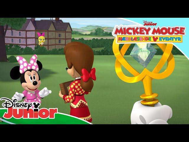 Legenden om sceptret   Mickey Mouse Hæsblæsende Eventyr   Disney Junior Danmark