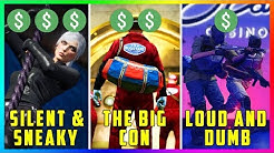 Which Diamond Casino Heist Approach Is The BEST: Silent & Sneaky VS The Big Con VS Aggressive!