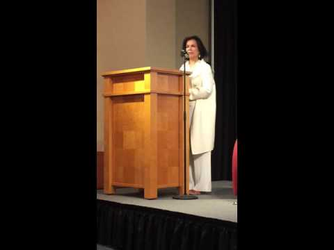 Bianca Jagger speaks about Nicaragua and the environment