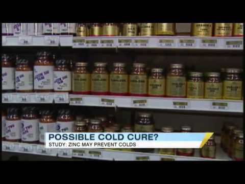 Zinc Link: Cure For Common Cold? 2/16/2011