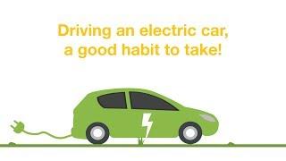 Driving an electric car, a good habit to take!