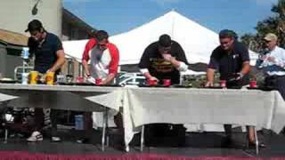 Whoopie Pie Festival Eating Competition 2008