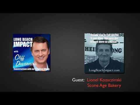 Lionel Kozaczinski with Scone Age Bakery - E001 Long Beach Impact