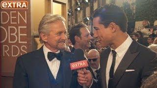 Golden Globes: Michael Douglas Talks Marriage and Catherine Zeta-Jones