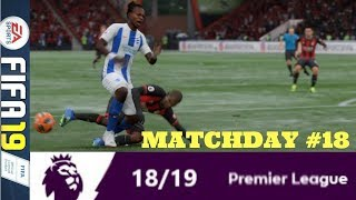 SOUTH COAST DERBY TIME: MATCHDAY 18 PREMIER LEAGUE #ePL (FIFA 19)