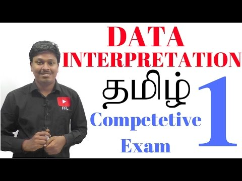 DATA INTERPRETATION #1 _ TAMIL (Bank/SSC/Railway ....)