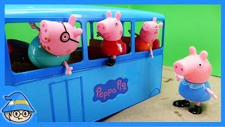 Peppa Pig family episode video. Please rescue Peppa Pig who missed daddy.