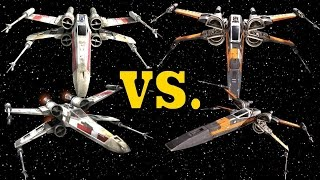 Rebel T-65 X-Wing vs. Resistance T-70 X-Wing - X-Wing Starfighter Comparison
