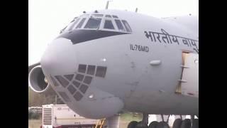 印度出动空军运输机 向东北部地区输送防疫物资