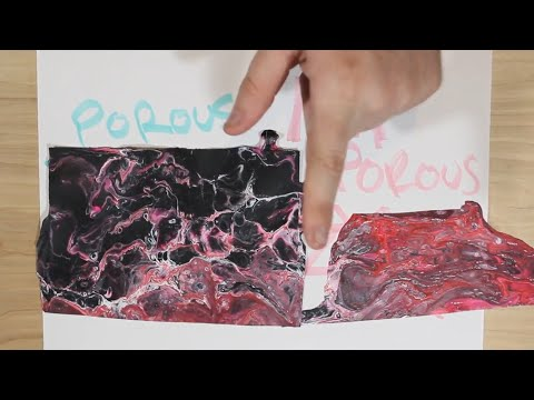 Upgrade your acrylic skins with a poured paper project - Experiment & How To