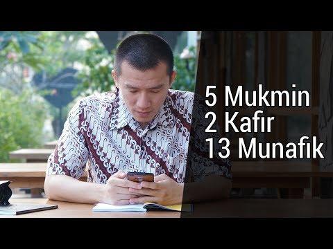 5 Mukmin 2 Kafir 13 Munafik