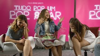 Klara Castanho, Maisa Silva e Mel Maia revelam curiosidades das filmagens de Tudo por um Popstar