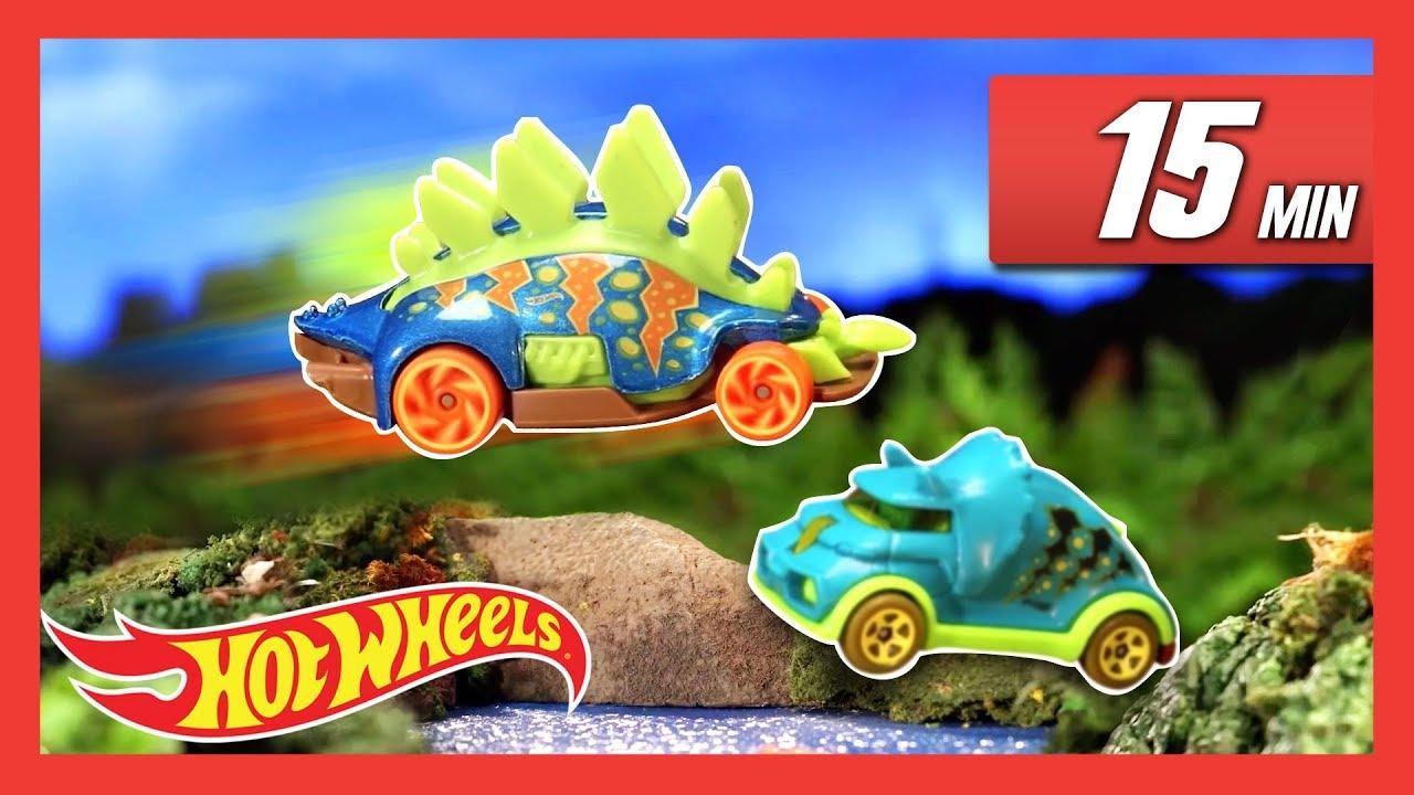 T-Rex Loose in Giant Hot Wheels City !