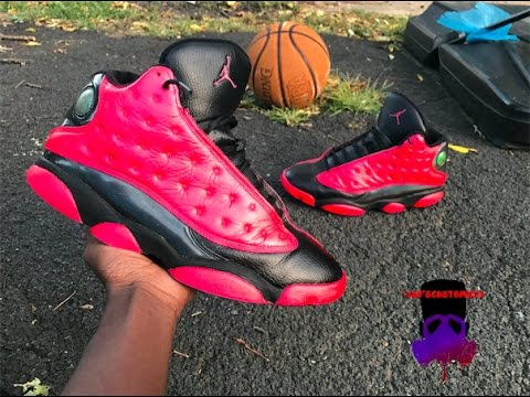 ecb23e65ee7b Custom Air Jordan 13s - YouTube