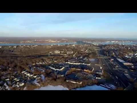 First Flight With Drone, Waterford CT (Low Resolution)