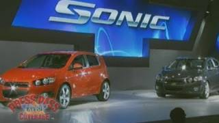 Chevrolet Sonic Introduced @ 2011 Detroit Auto Show