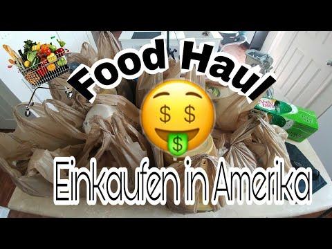 Food Haul - Einkaufen in Amerika 💵🍎🍫🍞🇺🇸