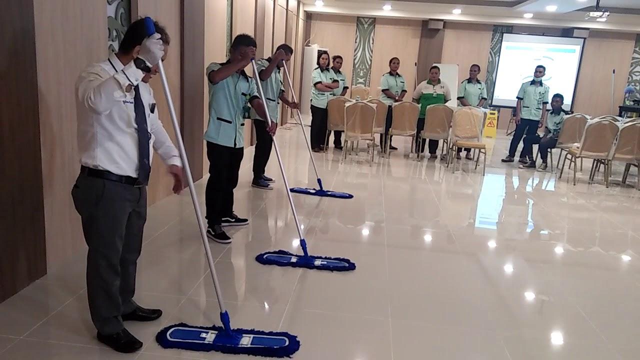 Pelatihan Cleaning Untuk Office Boy Rumah Sakit Youtube
