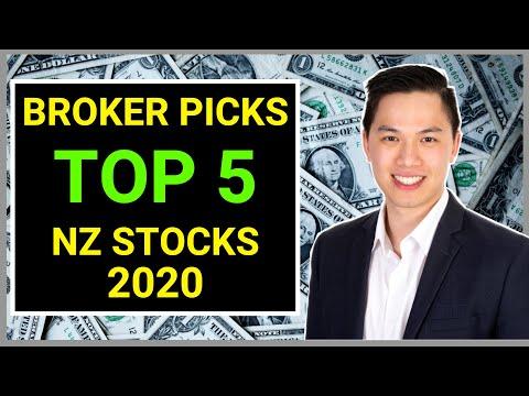 Top 5 NZ Stocks In 2020 | Broker Picks Ft. My Picks