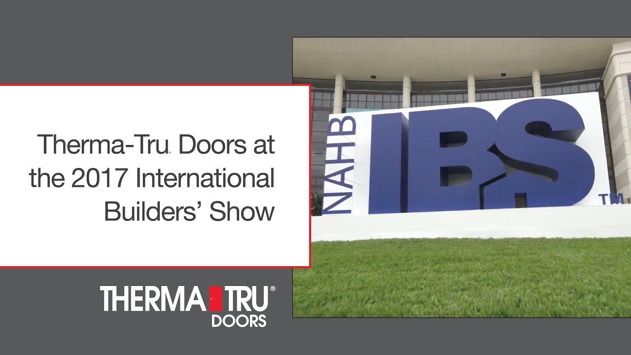 Therma tru doors at the 2017 international builders show youtube therma tru doors at the 2017 international builders show eventshaper