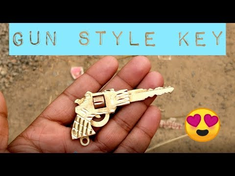 Make Gun Style Key For Royal Enfield Or Any Bike Car In Just 150