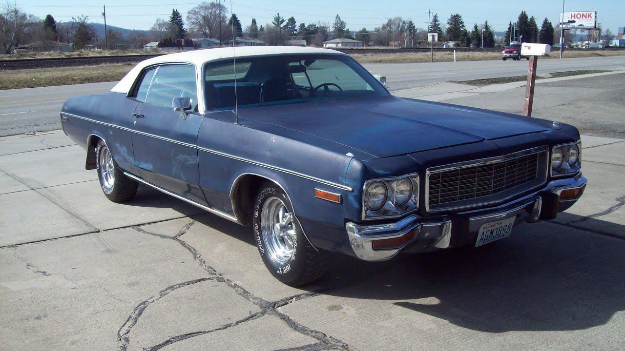 1973 2 Door Dodge Polara For Sale 2 500 Youtube