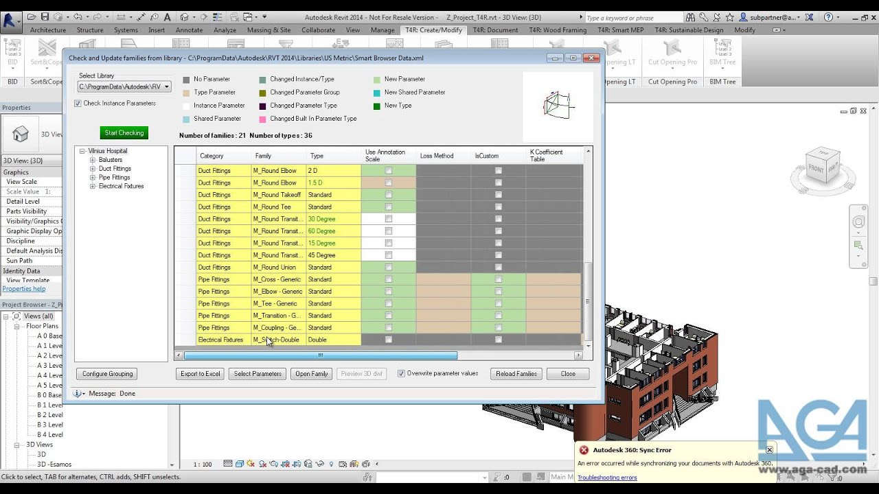 Revit® Family Search & Management | Smart Browser Manage
