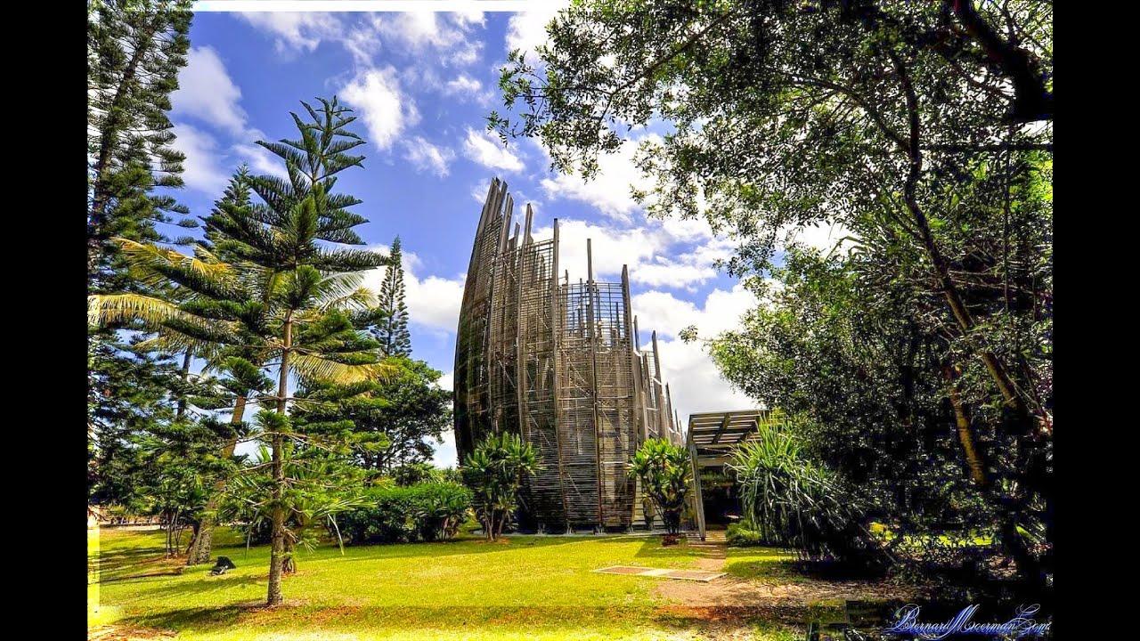Centre Culturel Jean Marie Tjibaou Nouvelle Caledonie