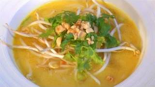 How To Prepare Thai Chicken Noodle Soup