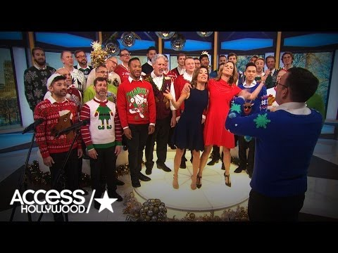The Gay Men's Chorus Of Los Angeles Performs Christmas Classics | Access Hollywood