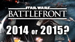 Star Wars Battlefront Multiplayer 2015 Release Date with E3 2014 Gameplay Incoming PS4 Xbox One PC