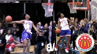 Collin Sexton VS Jaylen Hands DUNK CONTEST! McDonald