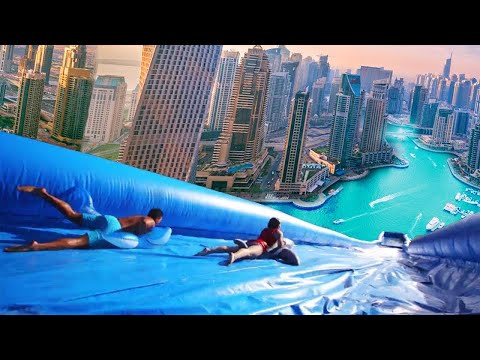 10 MOST INSANE HOMEMADE WATERSLIDES YOU WONT BELIEVE EXIST