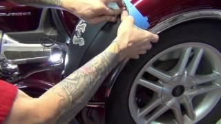 Bras For Trikes - Trike Fender Bra Install