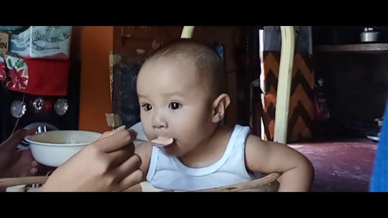 Ang daming kinain ni baby😍 - YouTube