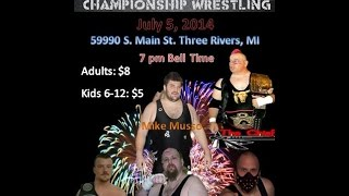 3 way Dance - Chief Attakullakulla vs Ian Rotten vs Mike Musso