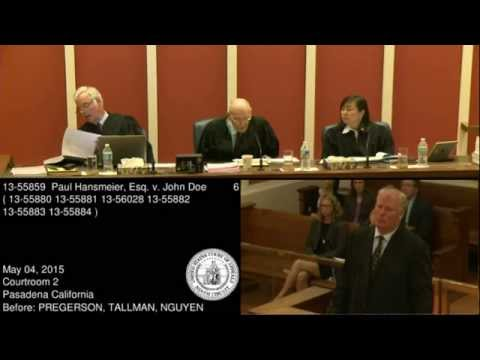 91yo Judge Describes Copyright Trolling