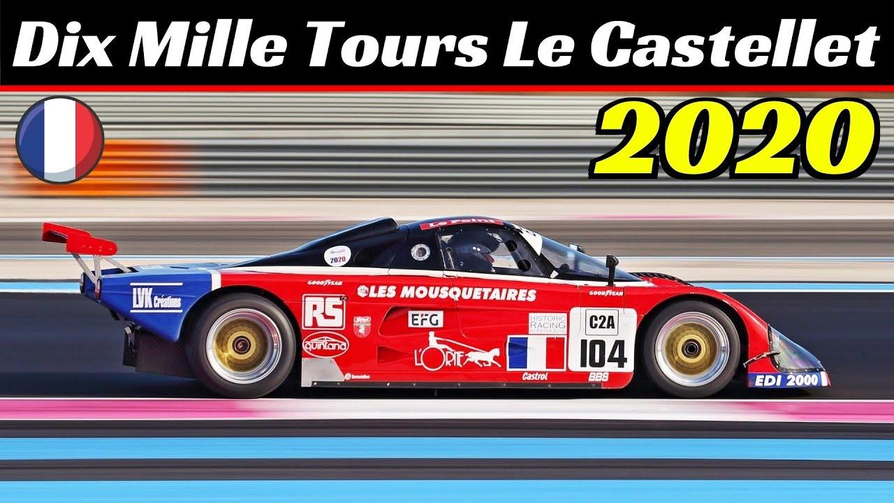 Dix Mille Tours Le Castellet 2020 by Peter Auto - Circuit Paul Ricard - Group C, Classic Legends 4/5