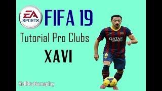 Fifa 19 | Tutorial face Xavi Hernandéz - Barcelona | Pro clubs