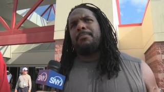 Jets OL Willie Colon calls Nick Mangold,